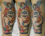 Abominable Snowman tattoo