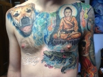 Buddha Chest piece tattoo