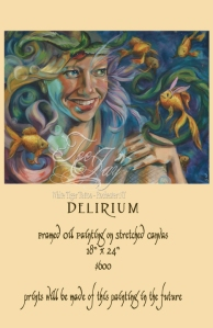 Delirium painting for sale