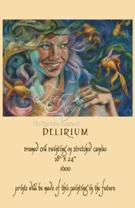 Delirium painting for sale
