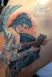Luis Royo tattoo detail