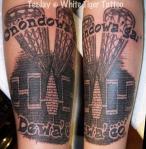 Seneca Lacrosse tattoo