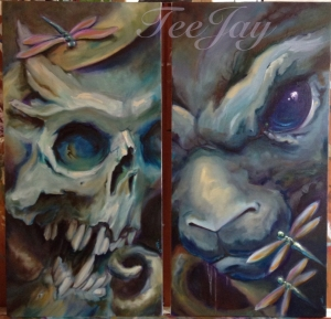 paintings by TeeJay