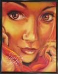 Phoenix painting by TeeJay