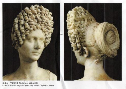 Young Flavian Woman