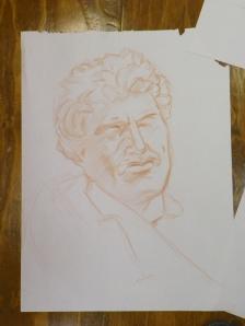 conte sketch