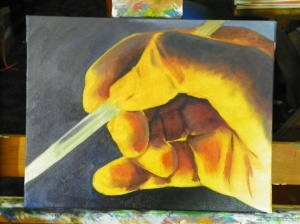 Painting of Hand