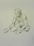 figure drawing charcoal