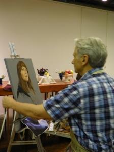 Steve Carpenter painting
