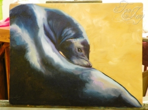 Seal Oil Painting