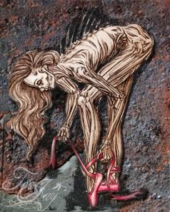 Zombie Ballet Dancer