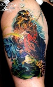 Susan S Boulet tattoo