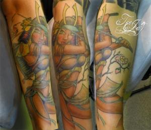 Hot Samurai tattoo
