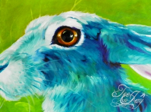 Blue Rabbit (detail)