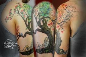 tree for all seasons tattoo