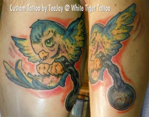 JAIL bird tattoo