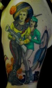 Flash Gordon tattoo