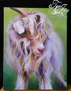 goat painting