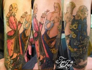 Harry Clark tattoo