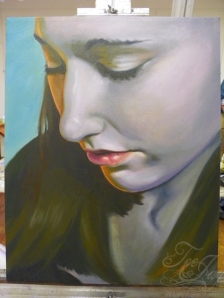 painting of Jessica Dill