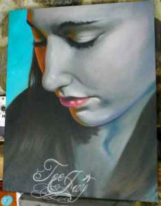 painting of Jessica