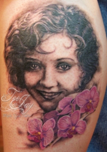 Nancy Carroll tattoo