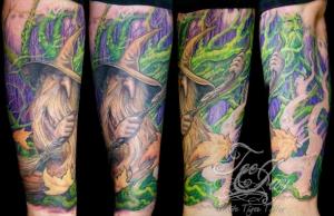 Spirit of the Woods tattoo