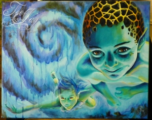 water babies painting