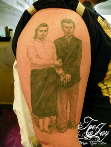 Grandparent tattoo