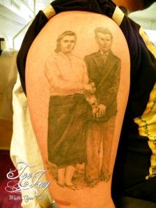 Grandparents tattoo