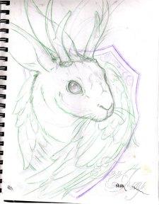 jackalope sketch