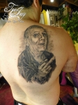 John Denaro tattoo