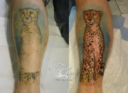 tattoo reconstructed after burns