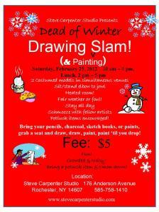 Steve Carpenter Studio Mid Winter Drawing Slam