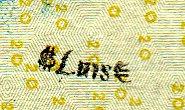 luis or luise stamp on twenty