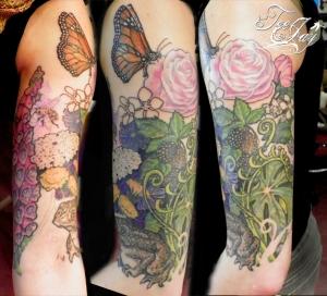 Feminine Wildflower Sleeve
