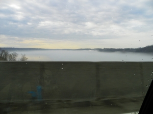 Fog on Irondequoit Bay