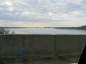 Fog on Irondequoit Bay
