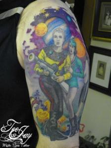 Flash Gordon tattoo
