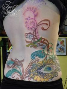 Mucha inspired tattoo