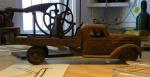 rusty toy truck