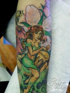 woodland nymph tattoo