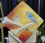 TeeJay crossbones painting in progess