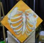 TeeJay ribs painting in progress