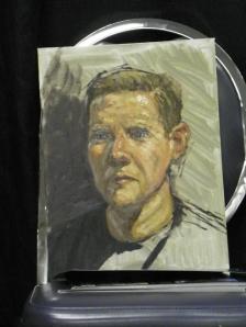 Scott W Prior painting