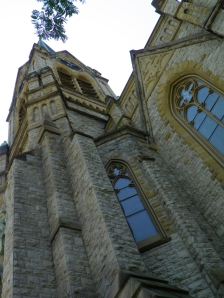 exterior of St Michaels Church