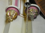 pull rope for bells in tower