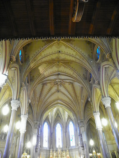 ceiling of St Michaels