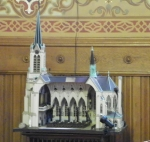 model of St Michaels church