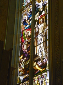 Resurrection in Stained Glass